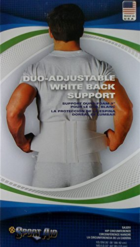 (Sportaid BACK BELT DUROFOAM SPORTAID X Small 3251 by SportAid)