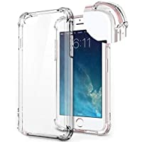 iPhone 6s Case Shockproof Clear TPU Phone Case For iPhone 6 6S 4 Corner Anti-fall Soft Transparent Protection (iPhone 6…