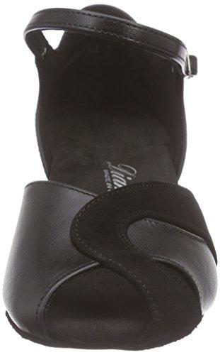 Diamant Diamant Damen Tanzschuhe 011-011-070 - Zapatos de danza moderna/jazz Mujer Negro - negro