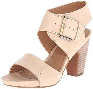 Clarks Women's Okena Mod Dress Sandal, Beige, ...