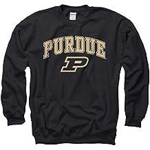 Purdue Boilermakers Arch & Logo Gameday Crewneck Sweatshirt - Black ,