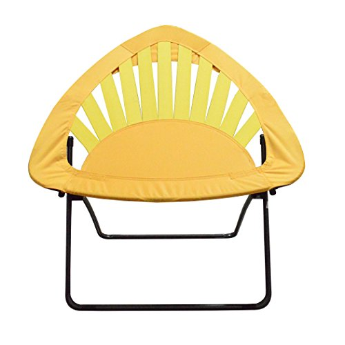 Impact Canopy Bungee Chair, Portable Folding Chair, Sunrise Triangle, Yellow