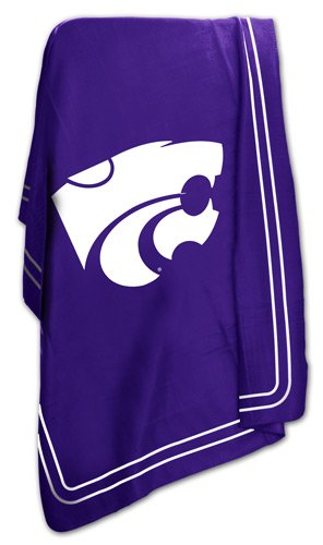 Kansas State University Wildcats Fleece Throw Blanket