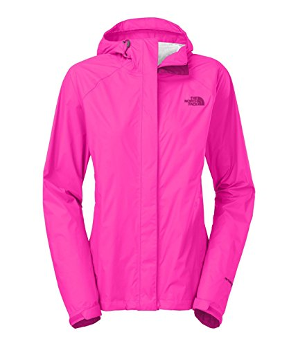 Women's The North Face Venture Jacket Glo Pink Size Medium - North Face Running Jacket
