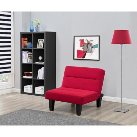 Kebo Chair | Microfiber Upholstery that Wipes Clean with a Damp cloth (Red) by Generic (Image #1)