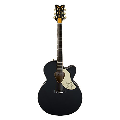Gretsch Guitars G5022C Rancher Falcon Cutaway Acoustic-Electric Guitar Black