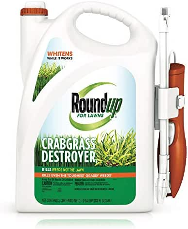 Roundup for Lawns Crabgrass Destroyer1 Ready-to-Use with Extended Wand, 1 gal.