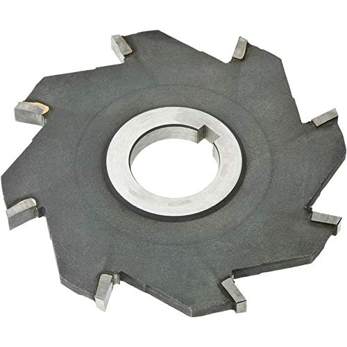 (Grizzly G9356 Carbide Tip Side Mil Length Cutter, 4-Inch by 1/4-Inch by 1-Inch B, 8T)