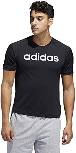 adidas Men's 3-Stripes Regular Fit Tennis Club Short Sleeve T-Shirt