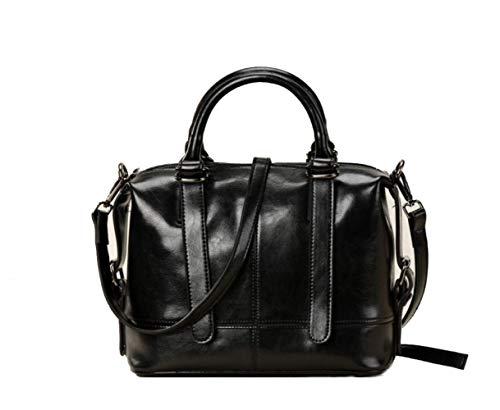 En Épaule Peau À Mode Femmes Wybxa Une L'huile Portable Cuir Vache Cross Sac Bag Sauvage Cire Rétro Black bag De zIZIdpq