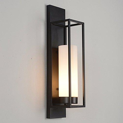 JJZHG Wandleuchte Wandlampe Wasserdicht Wandbeleuchtung Retro- Wohnzimmergang-Wandlampe der Hotelnachttischlampe beinhaltet  Wandlampe,stoere wandlampen,wandlampen Design,wandlampe led
