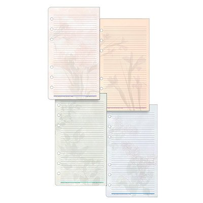Day-Timer Portable Size Garden Path Note Pads, 3.75 x 6.75 Inches (13688) ()