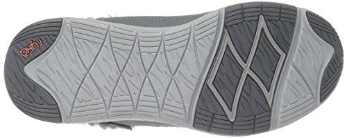 Ryka Womens Azure Fashion Sneaker Grey/Peach/Grey