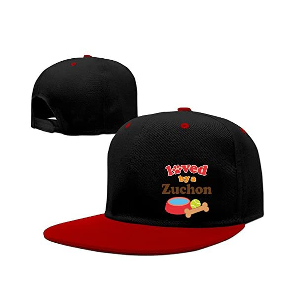 Kooiico Men&women Loved By A Zuchon Hip Hop Hat Adjustable 1