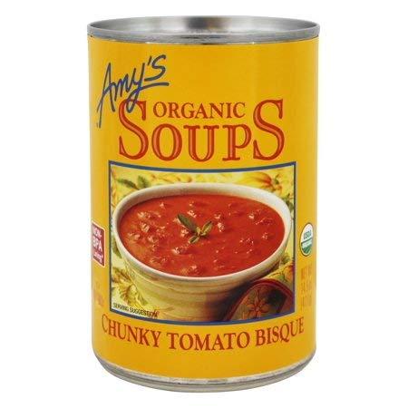 Review Organic Soups Chunky Tomato