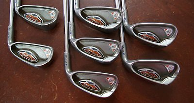 Ping Steel Shafts (Ping G10 4-PW Blue Dot Regular Flex Steel Shafts Iron Set Golf Clubs)