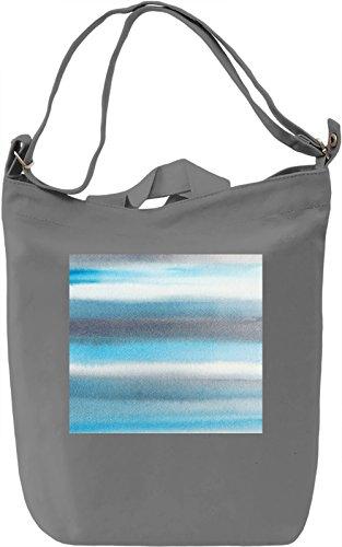 Watercolor Print Borsa Giornaliera Canvas Canvas Day Bag| 100% Premium Cotton Canvas| DTG Printing|
