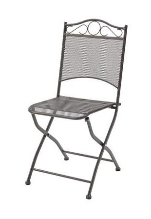 Amazon Com Cosima 2 Wrought Iron Metal Mesh Outdoor Chairs By