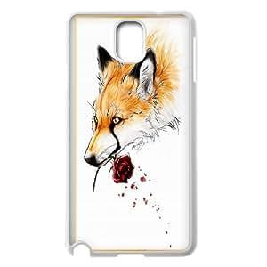 High Quality {YUXUAN-LARA CASE}Foxy Fairy Animal Fox For Samsung Galaxy NOTE4 STYLE-15