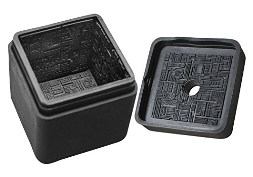 The Borg Star Trek - DIAMOND SELECT TOYS Star Trek: The Next Generation: Borg Cube Silicone Ice Cube Tray