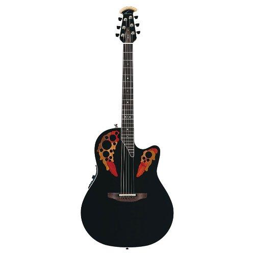 Ovation Standard Elite 2778AX Acoustic-electric Guitar, Black