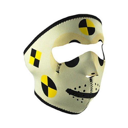 Zan Headgear Crash Test Dummy Neoprene Face Mask