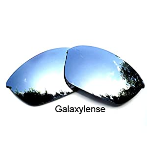 Galaxy Replacement Lenses For Oakley Half Jacket 2.0 Titanium Color Polarized,