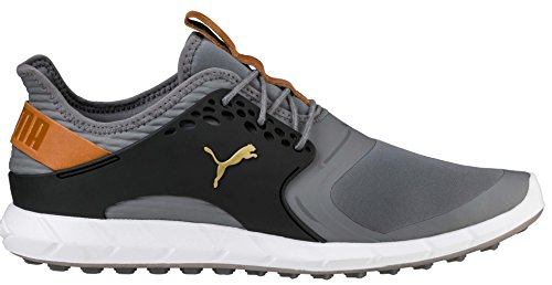 the best attitude e82c6 1078c Puma Golf Men s Ignite Pwrsport Golf Shoe, Quiet Shade Team Gold Black,