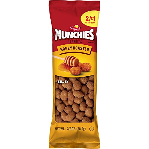 Munchies Honey Roasted Peanuts, 36 Count, 1.375 oz Bags