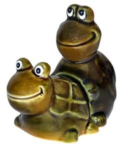 BigMouth Inc Faster! Faster! Turtles Salt and Pepper Shaker Set