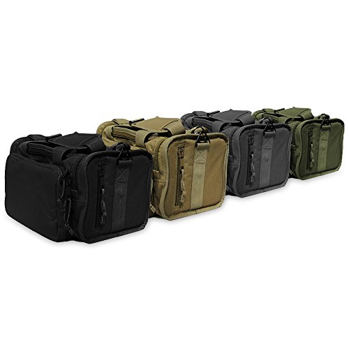 Osage River Tactical Shooting Gun Range Bag (Black, Standard (18 x 13 x 10) Inches) by Osage River (Image #7)