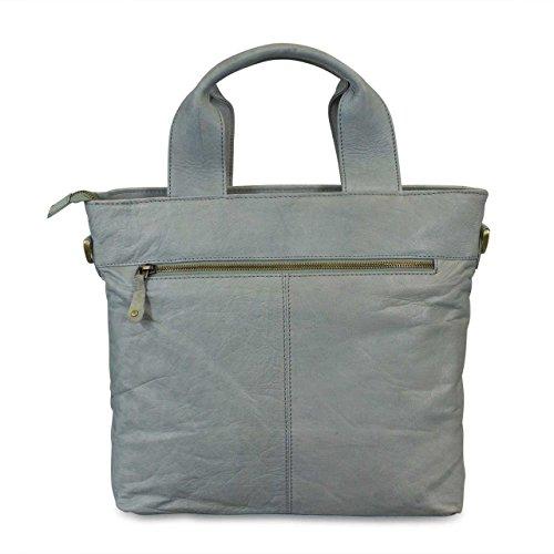 c209aec9ee ... Borsa a tracolla donna pelle piccolo borsa a mano classico used look /  vintage style elegante ...