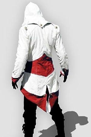 Assassins Creed 3 Connor Kenway rojo y blanco traje de ...