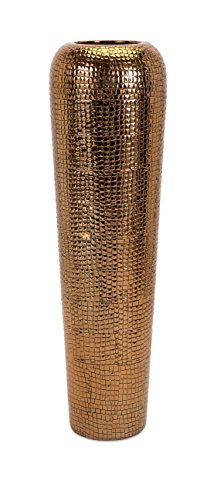 IMAX 11761 Tabora Oversized Vase, Tall, Copper