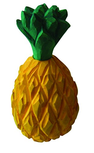 Estia Hand Carved Wooden Pineapple