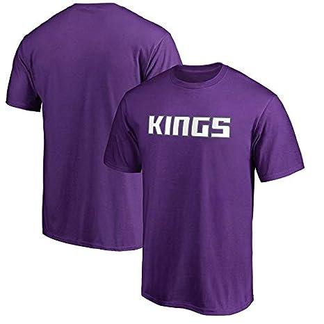 Camiseta De La NBA Kings Polyester Fashion Trend Letters Deportes Para Hombres Y Mujeres Que Se Ejecutan Sueltos Nueva Camisa Bordada De Swingman Jersey (Tamaño: S-XXXL): Amazon.es: Bricolaje y herramientas