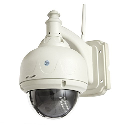 Sricam SP015 720P HD Surveillance IP Camera H.264 Waterproof Pan Tilt Plug and Play Wireless Wifi IR camera For Sale