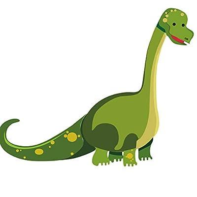 DEKOSH Dinosaur Wall Decals for Nursery Decor   Jurassic World T-rex Colorful Peel & Stick Prehistoric Kids Wall Stickers for Baby Bedroom, Playroom Murals: Home & Kitchen