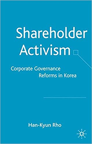 Amazon com: Shareholder Activism: Corporate Governance and
