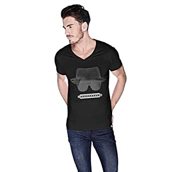 Creo Beach Hat In Glasses T-Shirt For Men - Xl, Black