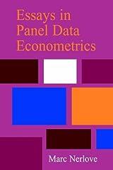 Essays in Panel Data Econometrics by Marc Nerlove (2008-08-21) Paperback