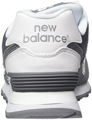Nye Balance Mænds Ml574 Reflekterende Pack Livsstil Sneaker Grå / Hvid Kt3FCQjO0