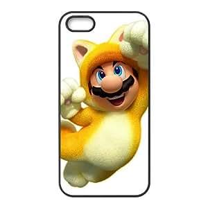 super mario 3d world iPhone 5 5s Cell Phone Case Black xlb2-140326