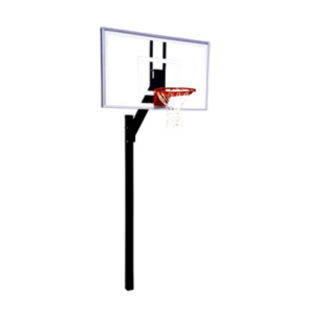 First Team Legacy Select Residential Fixed Height Inground Basketball Hoop System