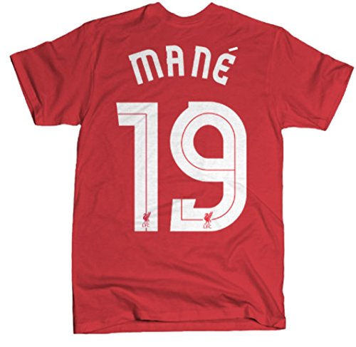 Anfield Shop Liverpool FC Sadio Mané T-Shirt (Large)