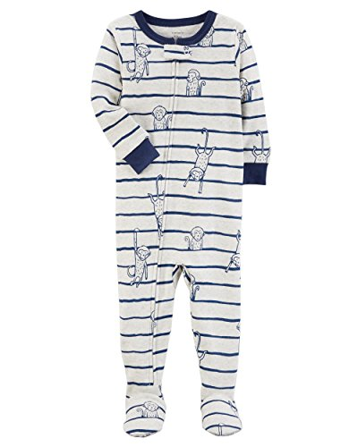 Carter's Baby Boys' 2T-5T One Piece Dinosaur Snug Fit Cotton Pajamas