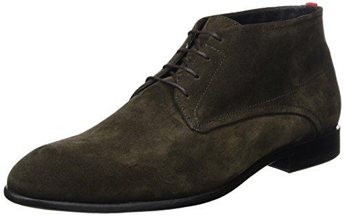 HUGO Men Dressapp_desb_sdfur 10201371 01 Desert Boots Brown (Dark Brown)