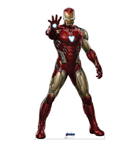 Advanced Graphics Iron Man Life Size Cardboard Cutout Standup - Marvel's Avengers: Endgame (2019 Film)]()