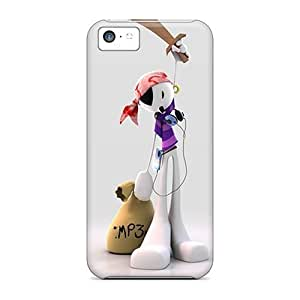 5c Scratch-proof Protection Case Cover For Iphone/ Hot 3d Fashion Pirate Phone Case
