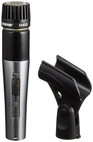 Shure 545SD-LC Cardioid Dynamic High or Low Z On-Off Switch (Shure Cardioid Dynamic Microphone)